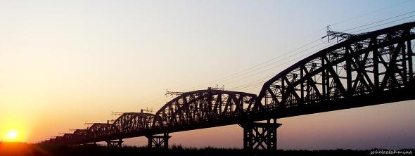 Hardinge Bridge, Pakshi, Pabna, Rajshahi, Bangladesh