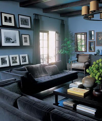 ben stiller's hollywood home-living room the celebrity way-sohelee