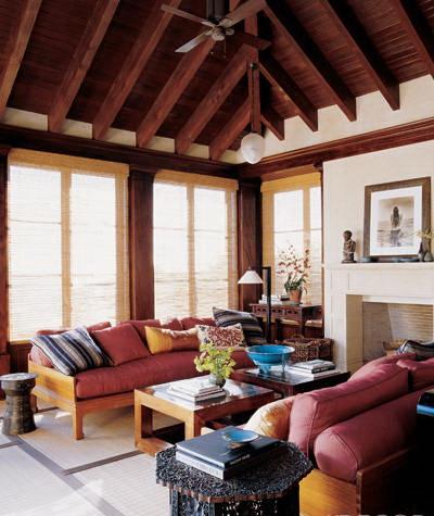 cindy crawford and rande gerber's malibu home-living room the celebrity way-sohelee
