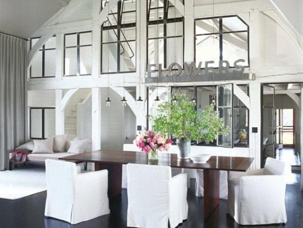 dining room-meg ryan-celebrities at home-sohelee