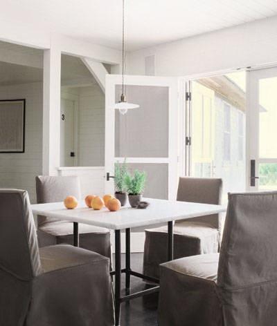 dining room-meg ryan-celebrities at home-sohelee2