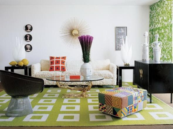 jonathon adler's palm beach condo-living room the celebrity way-sohelee