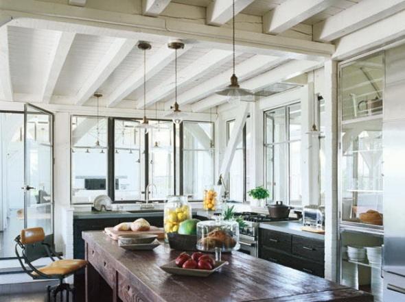kitchen-meg ryan-celebrities at home-sohelee