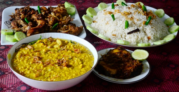lunch at aunt-in-law's-kushtia-sohelee