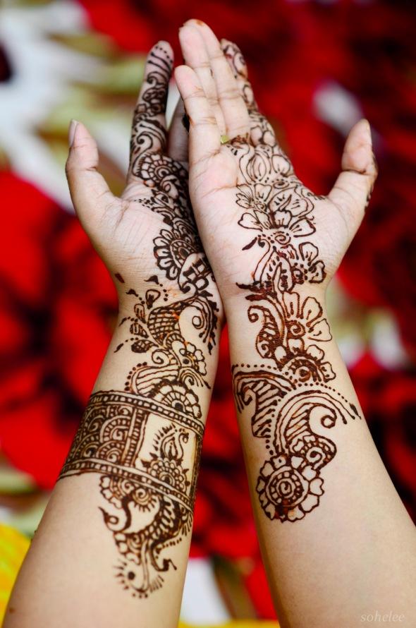 mehendi (hena art)-eid ul adha 2013-sohelee3