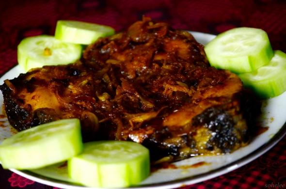 rui mach er dopeyaja- fish curry with onion-sohelee2