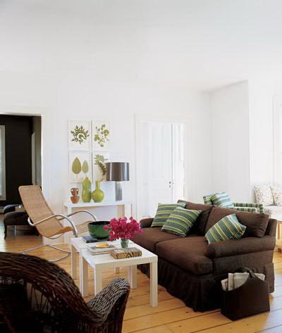 sarah jessica parker's bridgehampton home-living room the celebrity way-sohelee