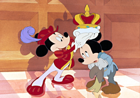 the prince & the pauper, 1990- 85th birthday of mickey mouse 2013-sohelee