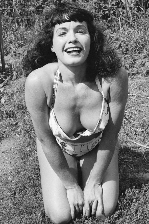 Bettie Page, 1956-the evolution of bang-sohelee