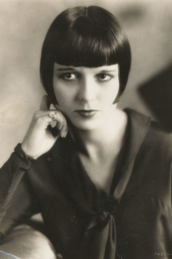 Louise Brooks, 1925-the evolution of bang-sohelee