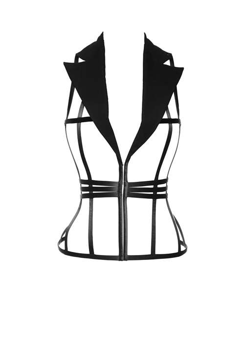 the cage collection by La Perla 2013-sohelee1