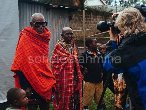 Visible ft. Kenyan Artisans in Karen Walker Spring 2014 Eye-wear Campaign- Sohelee14