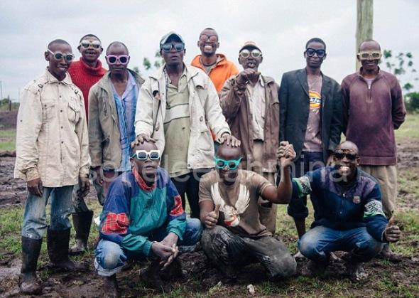 Visible ft. Kenyan Artisans in Karen Walker Spring 2014 Eye-wear Campaign- Sohelee16