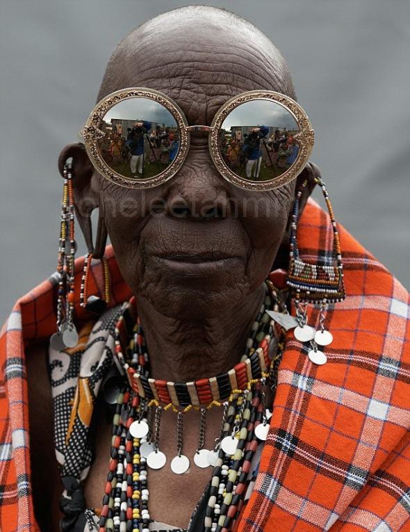 Visible ft. Kenyan Artisans in Karen Walker Spring 2014 Eye-wear Campaign- Sohelee2