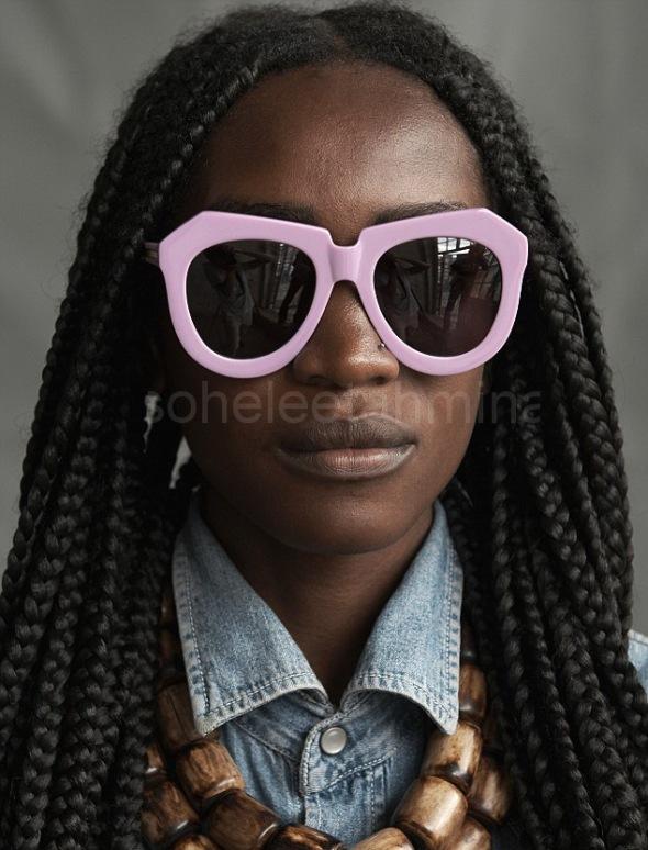 Visible ft. Kenyan Artisans in Karen Walker Spring 2014 Eye-wear Campaign- Sohelee3