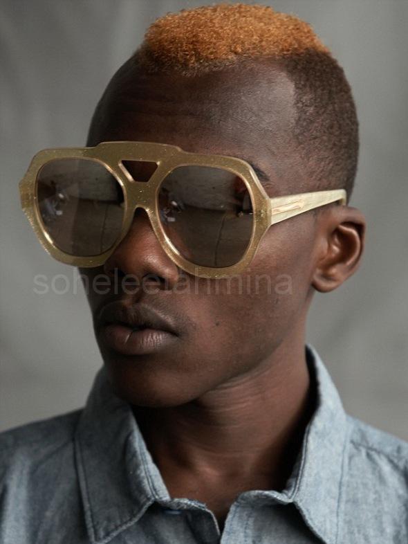 Visible ft. Kenyan Artisans in Karen Walker Spring 2014 Eye-wear Campaign- Sohelee4