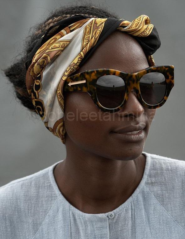 Visible ft. Kenyan Artisans in Karen Walker Spring 2014 Eye-wear Campaign- Sohelee5