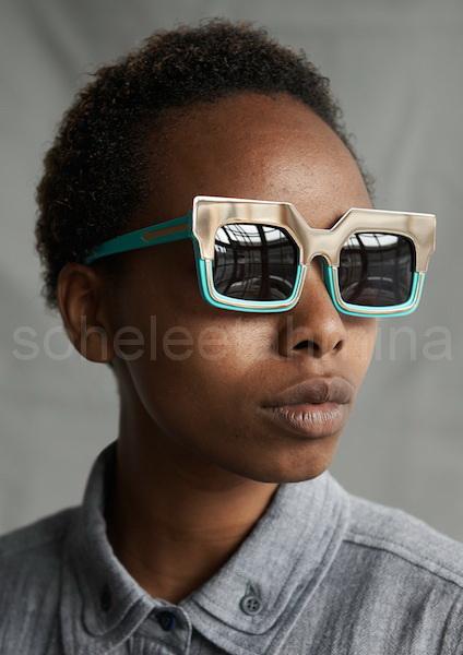 Visible ft. Kenyan Artisans in Karen Walker Spring 2014 Eye-wear Campaign- Sohelee7