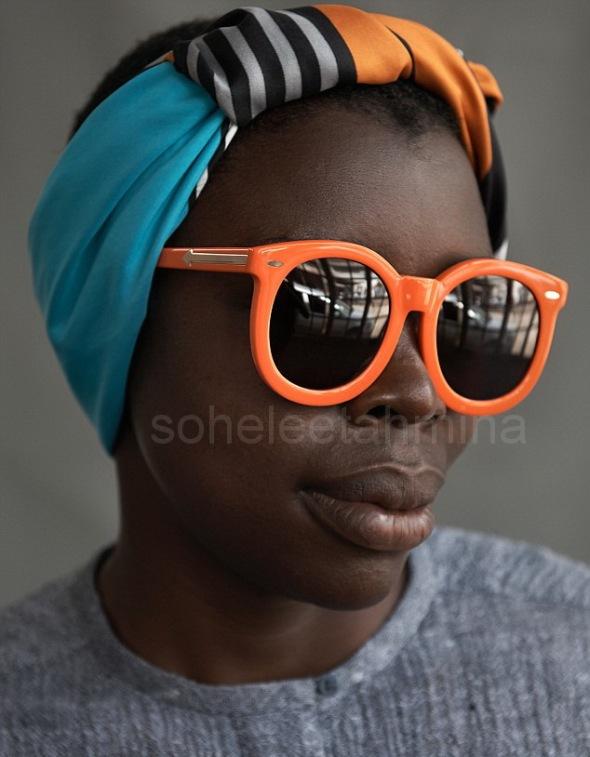Visible ft. Kenyan Artisans in Karen Walker Spring 2014 Eye-wear Campaign- Sohelee8