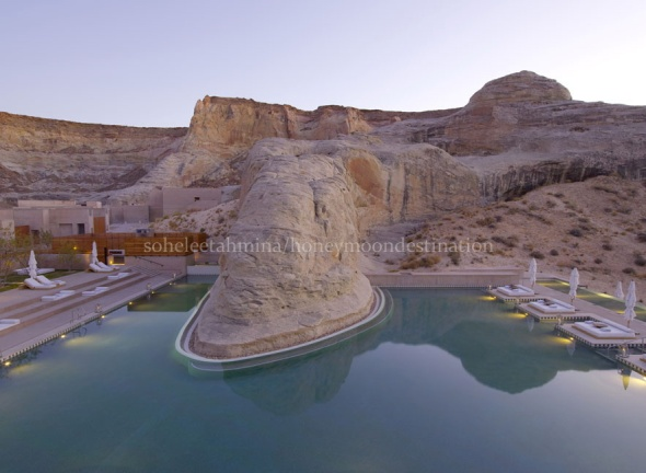 Amangiri Resort in Utah- Honeymoon Destinations- Sohelee