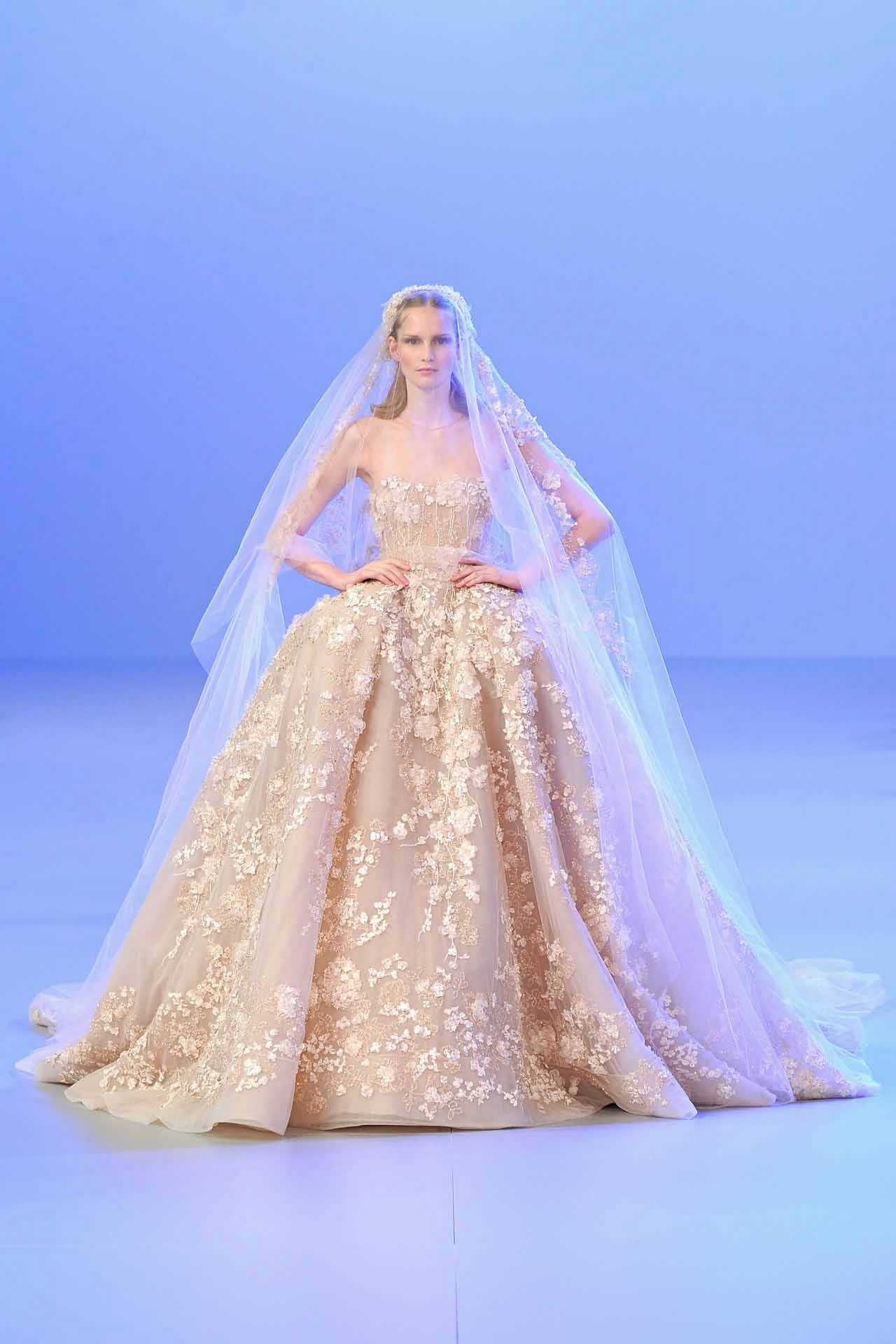 Chanel wedding dresses 2015 elie saab the wedding gowns for Haute couture wedding dresses