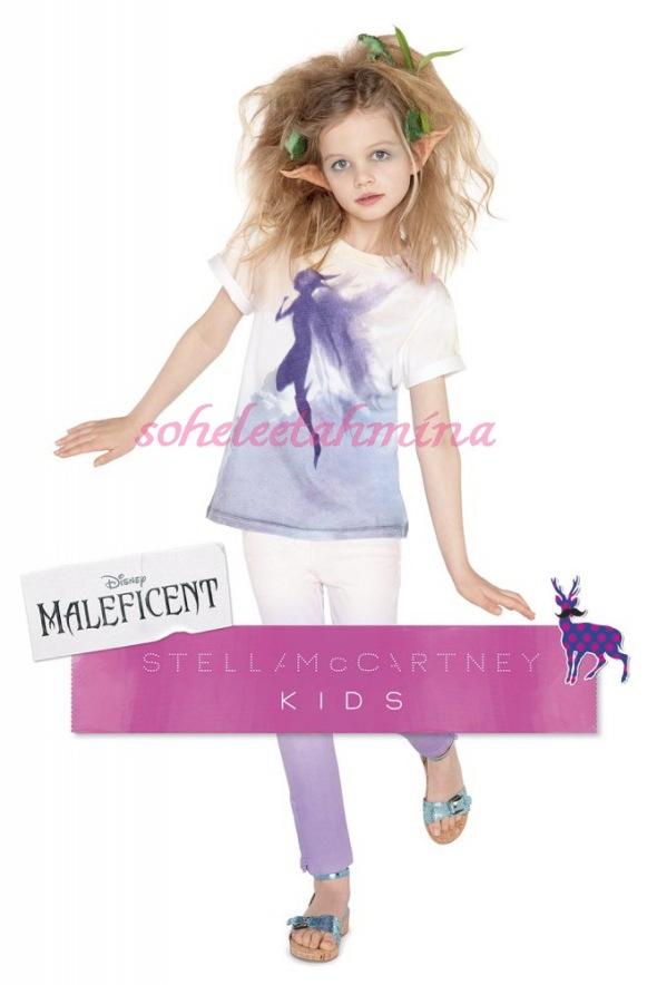 Arlo T-shirt- Disney Maleficent Stella McCartney Kids Collection 2014- Sohelee