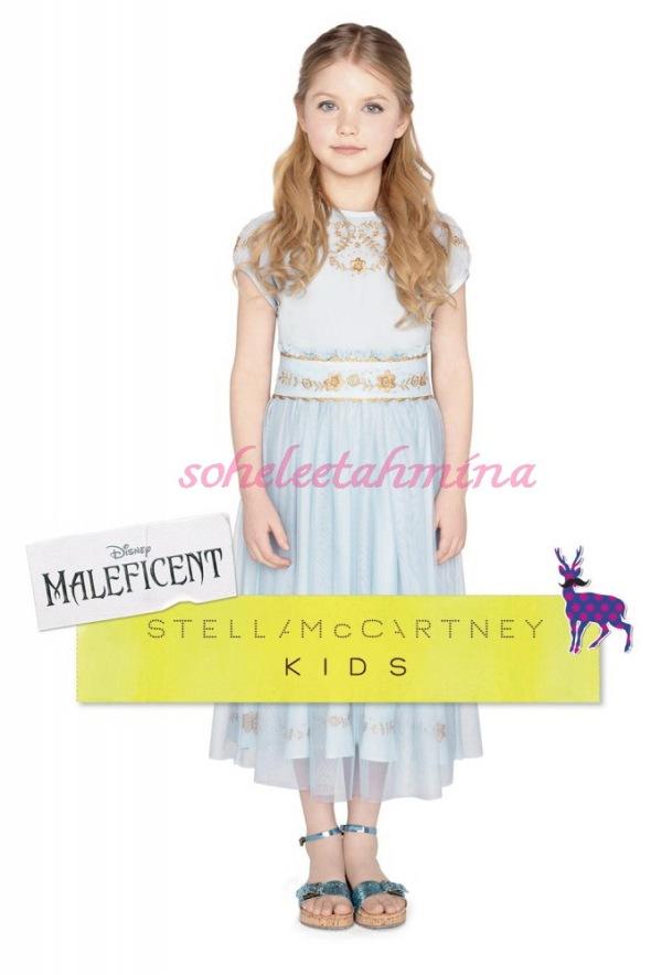 Aurora Tulle Dress- Disney Maleficent Stella McCartney Kids Collection 2014- Sohelee
