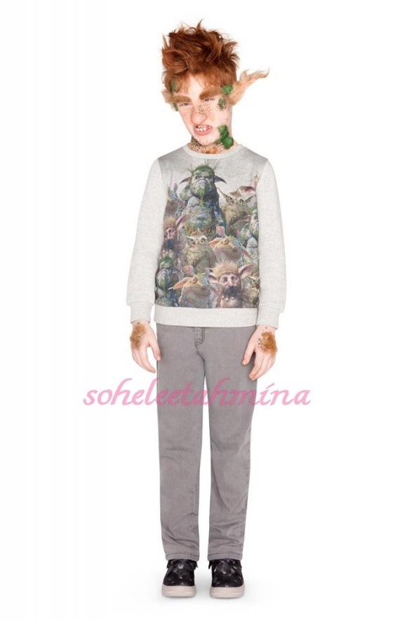 Billy Sweatshirt- Disney Maleficent Stella McCartney Kids Collection 2014- Sohelee