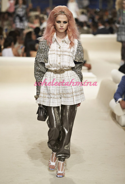 Look 1- Chanel Cruise Collection 2014-15- Sohelee