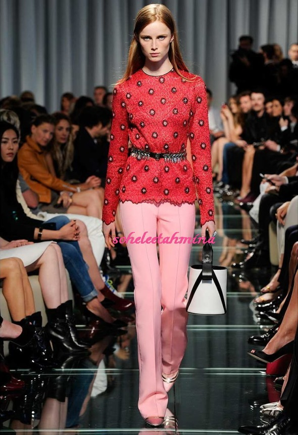 Look 1- Louis Vuitton Cruise 2015 Collection- Sohelee