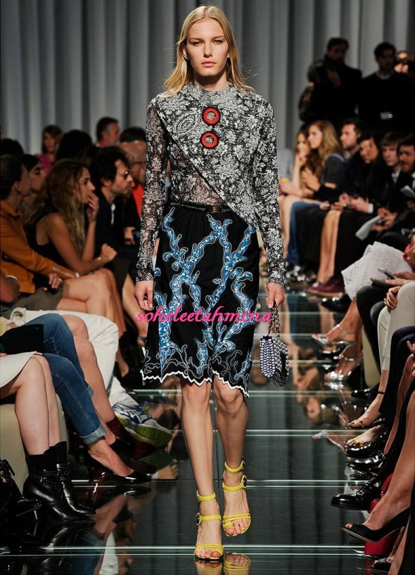 Look 10- Louis Vuitton Cruise 2015 Collection- Sohelee