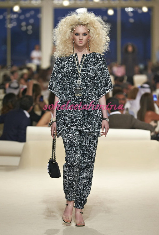 Look 11- Chanel Cruise Collection 2014-15- Sohelee