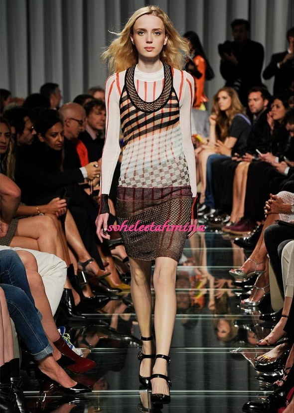 Look 17- Louis Vuitton Cruise 2015 Collection- Sohelee