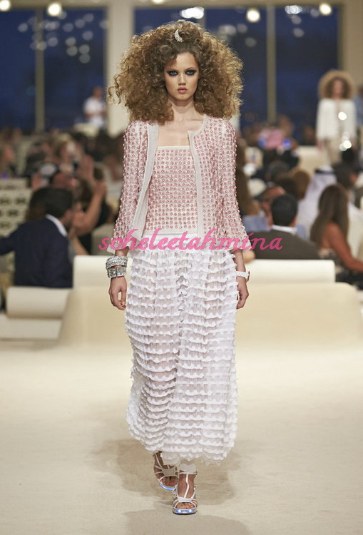 Look 18- Chanel Cruise Collection 2014-15- Sohelee