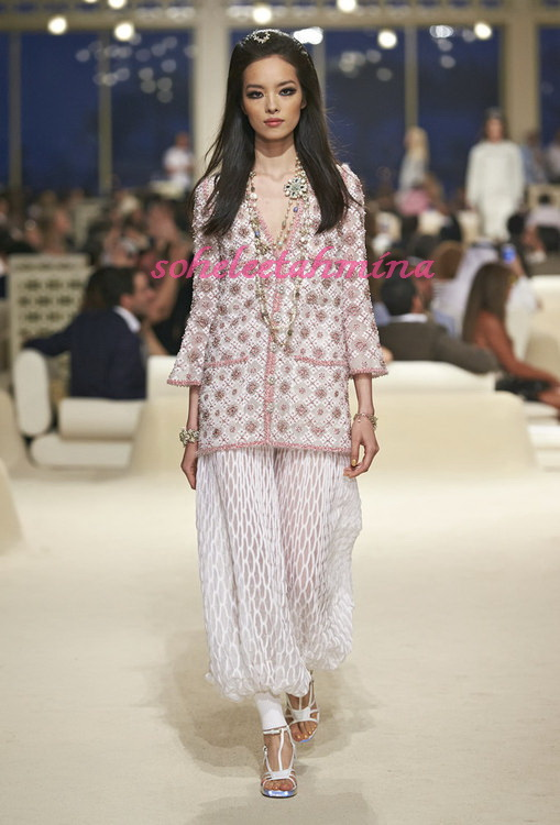 Look 19- Chanel Cruise Collection 2014-15- Sohelee