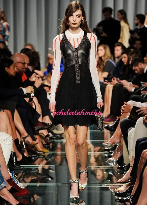 Look 19- Louis Vuitton Cruise 2015 Collection- Sohelee
