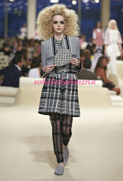 Look 2- Chanel Cruise Collection 2014-15- Sohelee