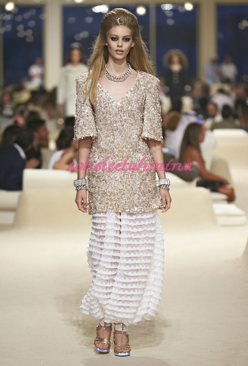 Look 20- Chanel Cruise Collection 2014-15- Sohelee