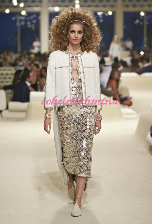 Look 21- Chanel Cruise Collection 2014-15- Sohelee
