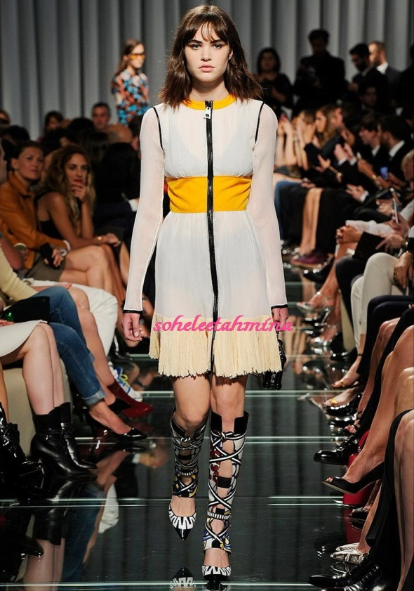 Look 21- Louis Vuitton Cruise 2015 Collection- Sohelee
