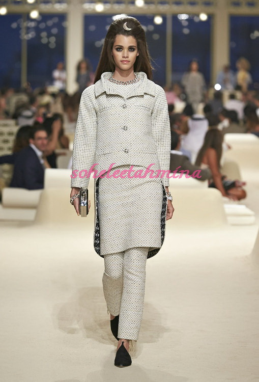 Look 22- Chanel Cruise Collection 2014-15- Sohelee