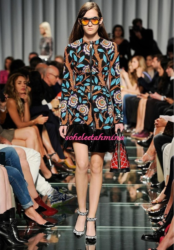 Look 22- Louis Vuitton Cruise 2015 Collection- Sohelee