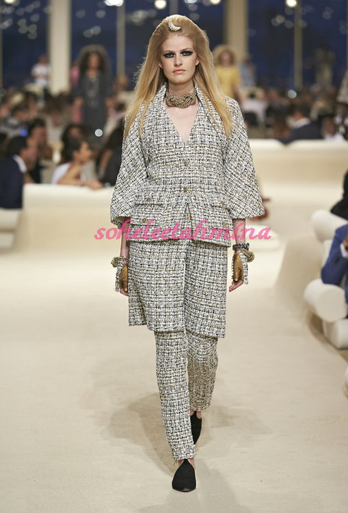 Look 24- Chanel Cruise Collection 2014-15- Sohelee