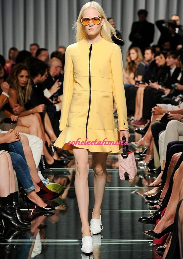 Look 24- Louis Vuitton Cruise 2015 Collection- Sohelee
