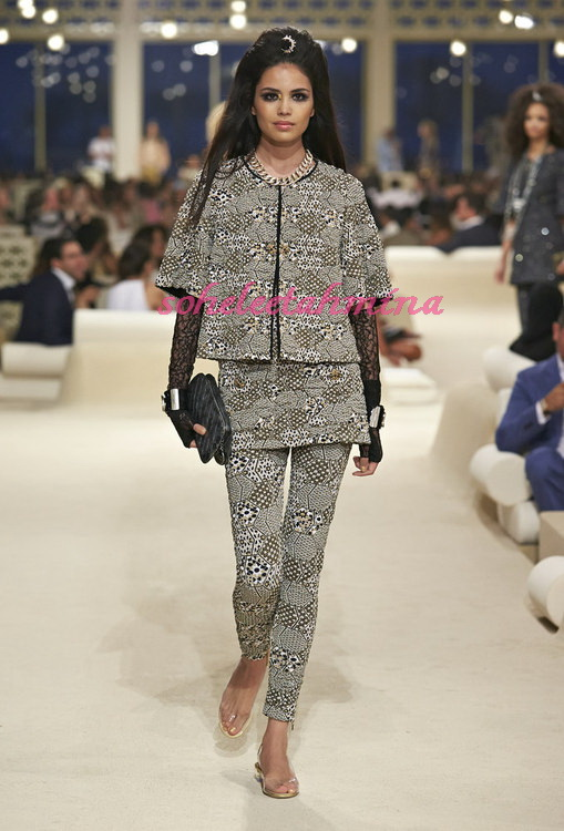 Look 25- Chanel Cruise Collection 2014-15- Sohelee