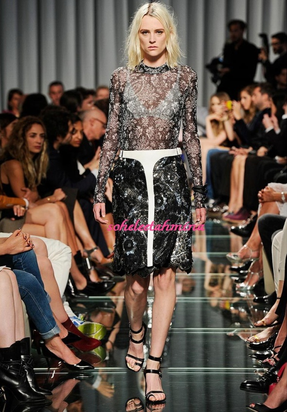 Look 25- Louis Vuitton Cruise 2015 Collection- Sohelee