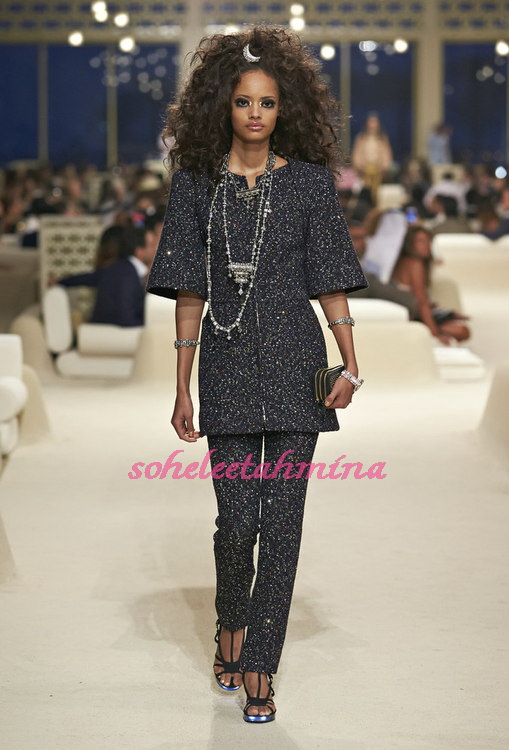 Look 26- Chanel Cruise Collection 2014-15- Sohelee