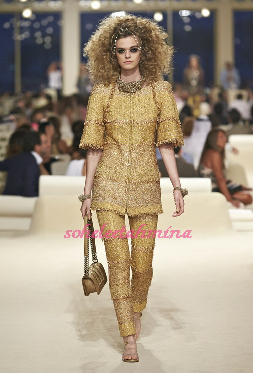Look 27- Chanel Cruise Collection 2014-15- Sohelee