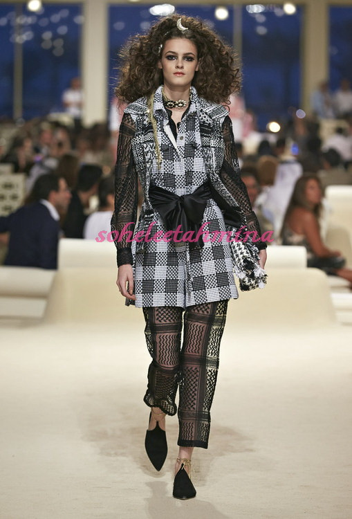 Look 3- Chanel Cruise Collection 2014-15- Sohelee