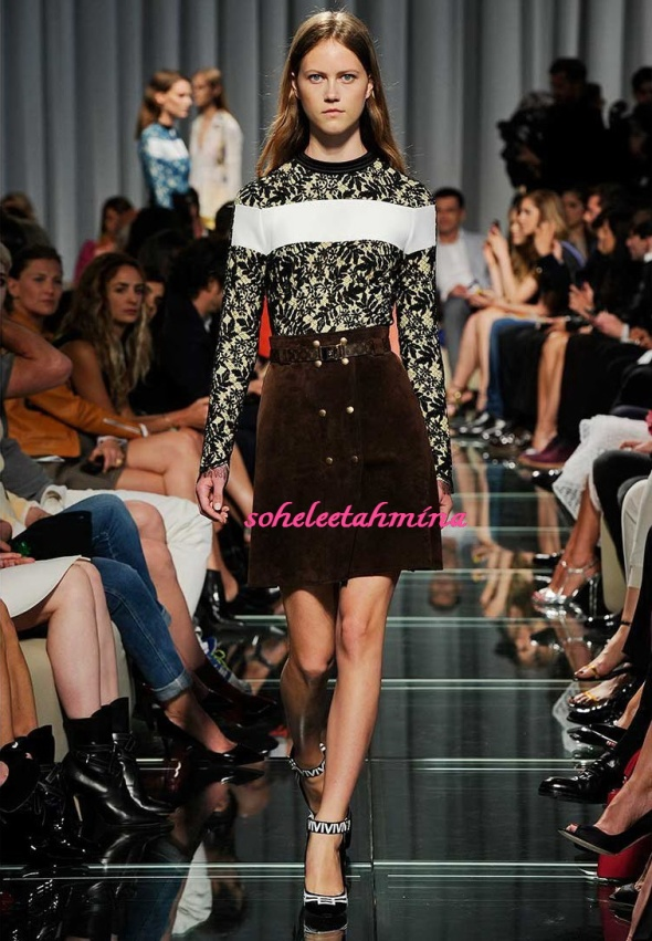 Look 3- Louis Vuitton Cruise 2015 Collection- Sohelee